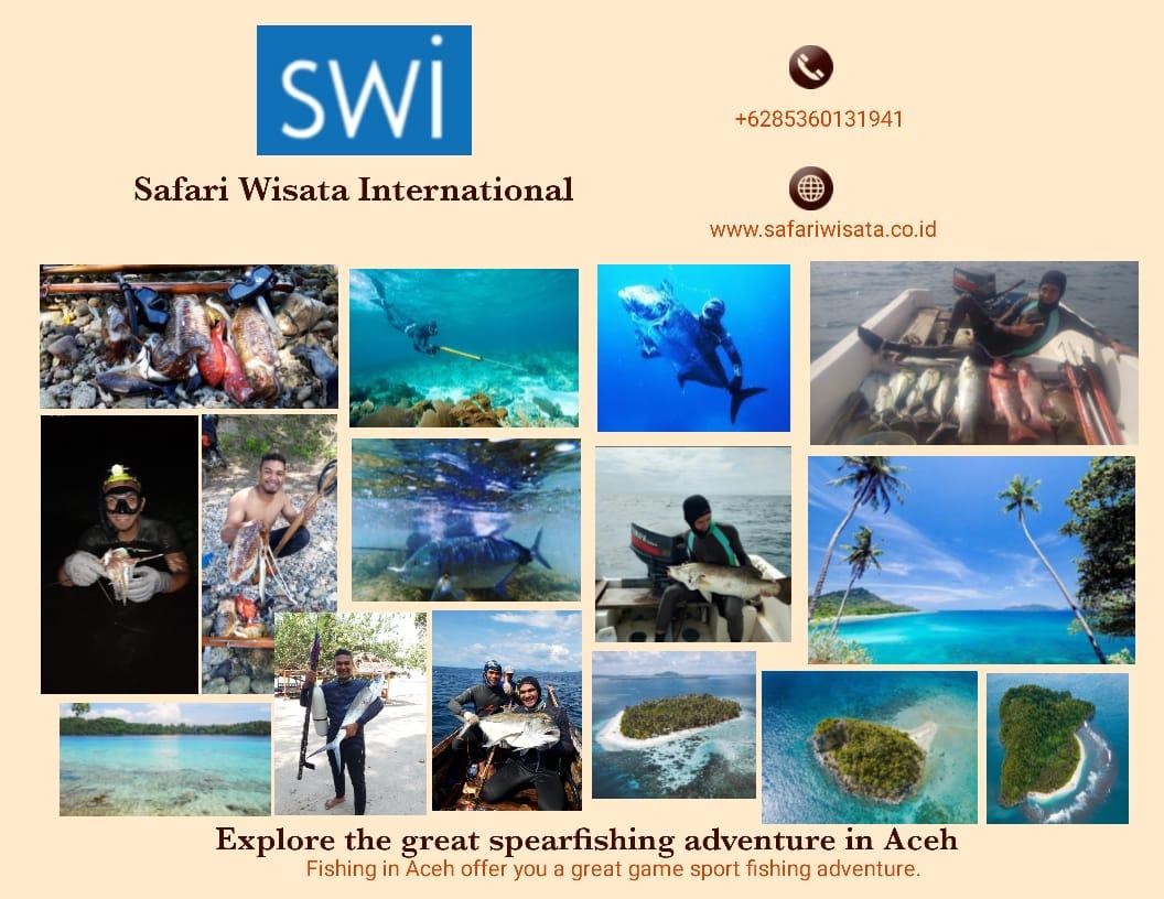 Paket Wisata Spearfishing di Aceh & Sabang