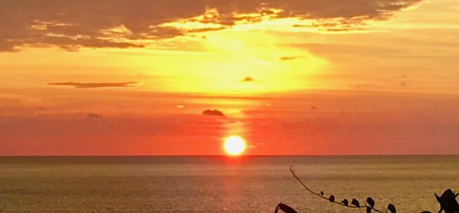 Sunset di Sabang