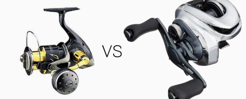 reel spinning vs reel baitcasting