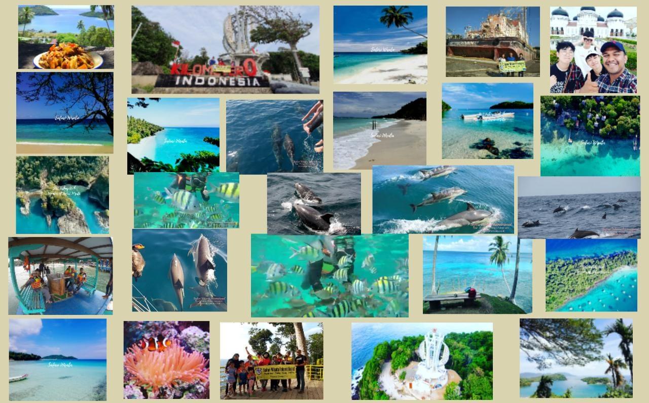 Paket Wisata Sabang + Hunting Dolphin 4 Hari 3 Malam